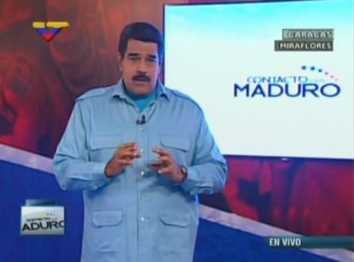 Maduro: Habrá elecciones llueva, truene o relampaguee