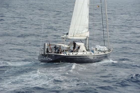 Detenidos venezolano y 2 españoles por transportar en velero 2 toneladas de cocaína