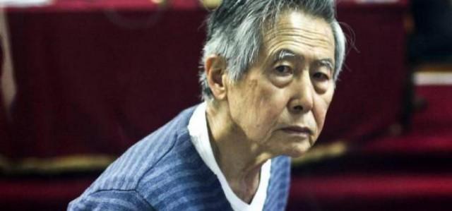 El encarcelado expresidente peruano Alberto Fujimori