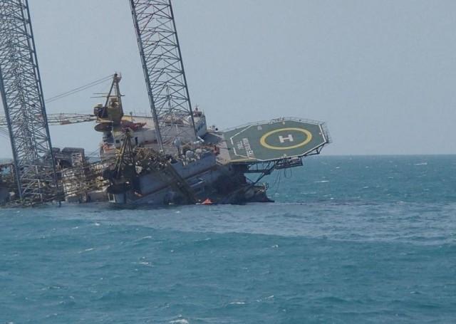 Desastre en plataforma petrolera de México