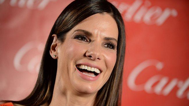 Sandra Bullock se lucio con Sandra Bullock