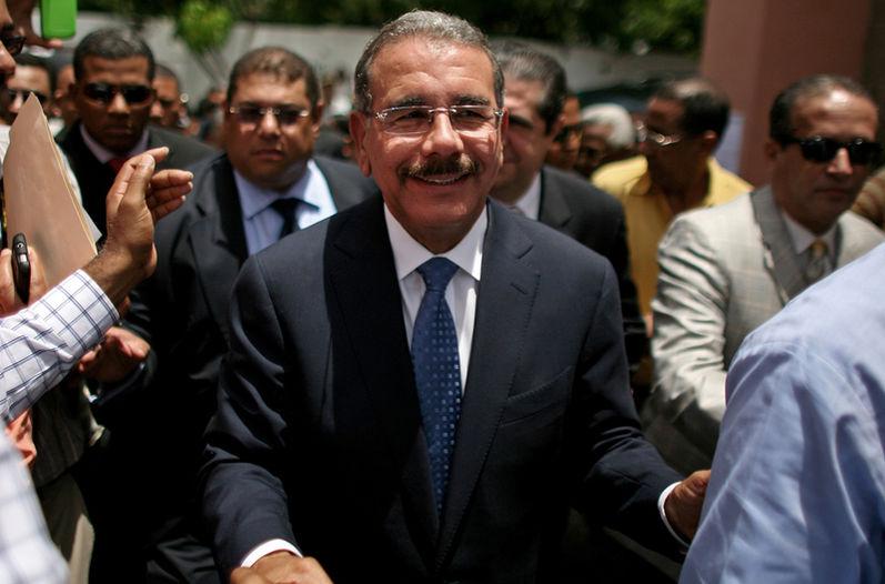 El presidente de República Dominicana, Danilo Medina. Fuente: www.nacion.com