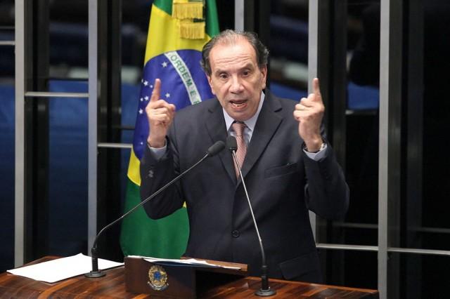 El senador Aloysio Nunes, Presidente de la Comisión de Relaciones Exteriores y Defensa Nacional del Senado de Brasil / Psdb