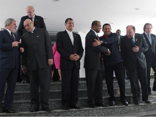 El 26 de noviembre de 2010, en la ciudad de Georgetown, Guyana, se instaló la IV Cumbre de Unión de Naciones Sudamericanas (Unasur); Guyana asumiría la presodencia del bloque regional / AVN