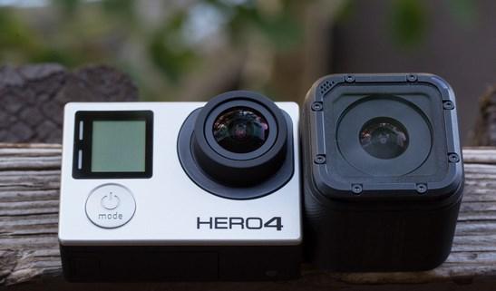Desde GoPro llega la Hero 4 Session, una versión minimizada de su conocida GoPro Hero 4, pero con un diseño también cúbico (aunque más grande que la Polaroid) y que presume de ser un 50% mas pequeña y un 40% más ligera (74 gr) que la Hero 4, reseñó El Impulso La Hero 4 Session es una versión simplificada en su uso ya que solo tiene un botón y carece de cualquier tipo de solo tiene una mini pantalla de solo dos líneas, pero grabavídeo Full HD a1080p @60 (con HD @100) y captura fotos a 8 MPx. Por lo