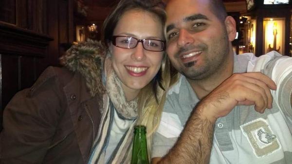 Andrea Gonzalez y Dany Abreu