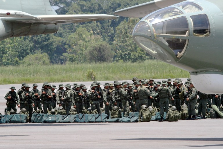 Armed Forces of Venezuela Photos TROPAS-FANB-LA-FRIA-1