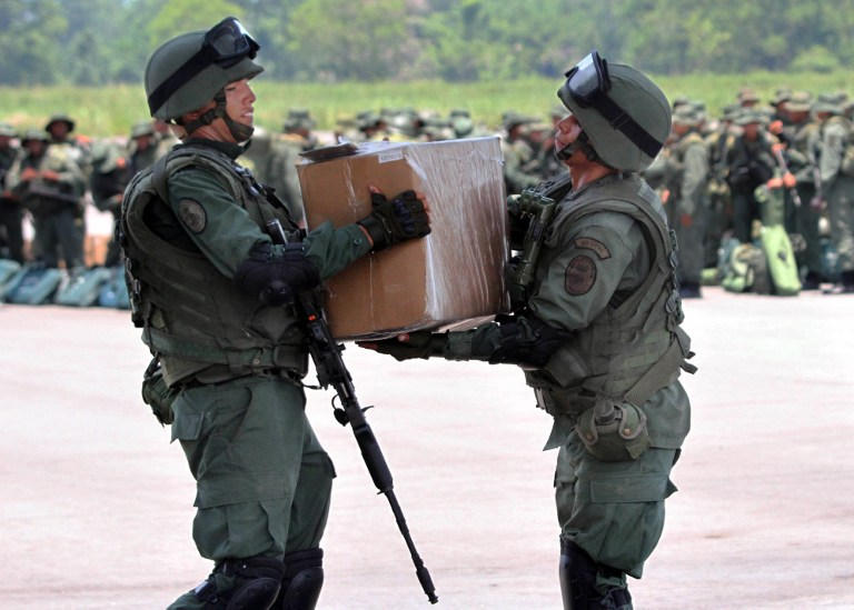 Armed Forces of Venezuela Photos TROPAS-FANB-LA-FRIA-10