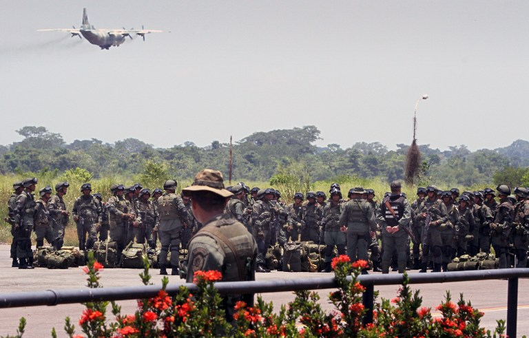 Armed Forces of Venezuela Photos TROPAS-FANB-LA-FRIA-2