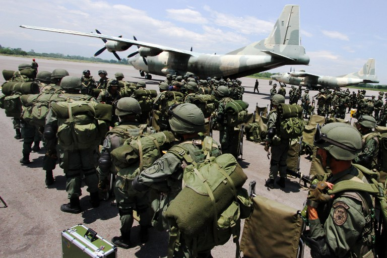 Armed Forces of Venezuela Photos TROPAS-FANB-LA-FRIA-3