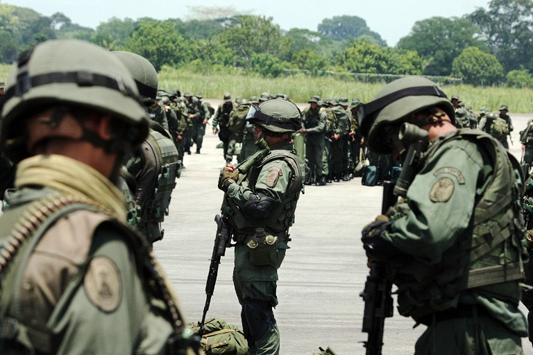 Armed Forces of Venezuela Photos TROPAS-FANB-LA-FRIA-6