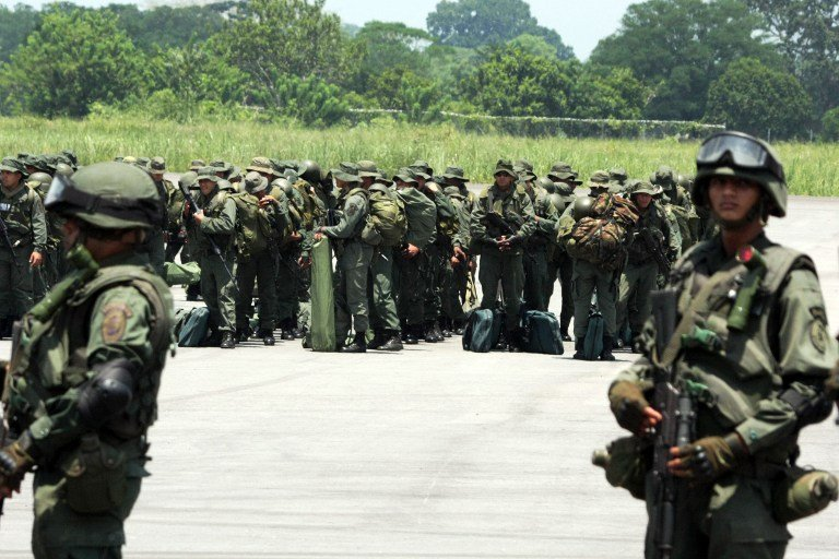 Armed Forces of Venezuela Photos TROPAS-FANB-LA-FRIA-7