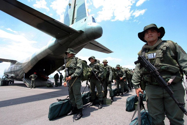 Armed Forces of Venezuela Photos TROPAS-FANB-LA-FRIA-8