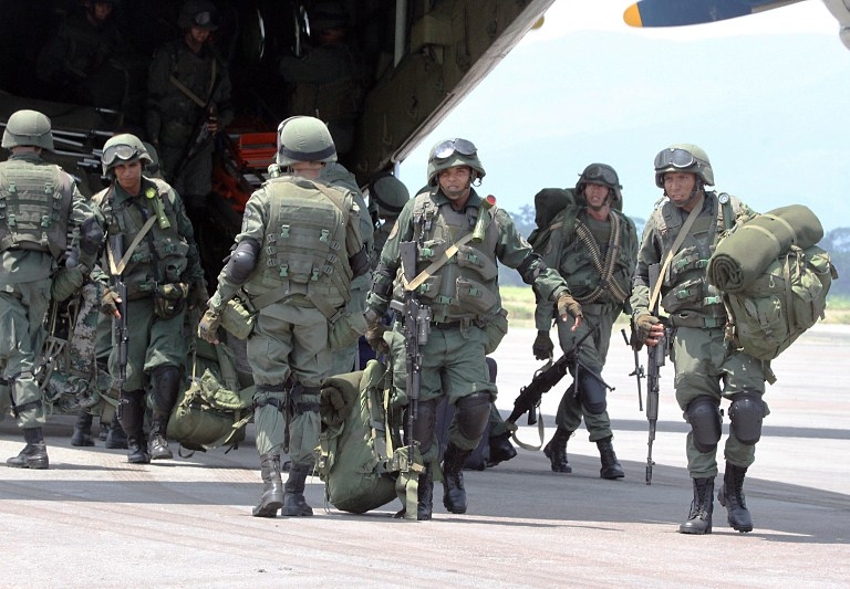 Armed Forces of Venezuela Photos TROPAS-FANB-LA-FRIA-9