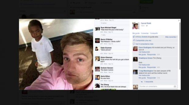 facebook comentarios racistas