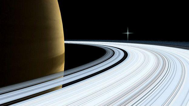 Imagen de Saturno captada por la NASA