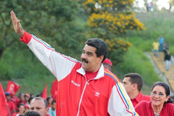 Maduro-caravana