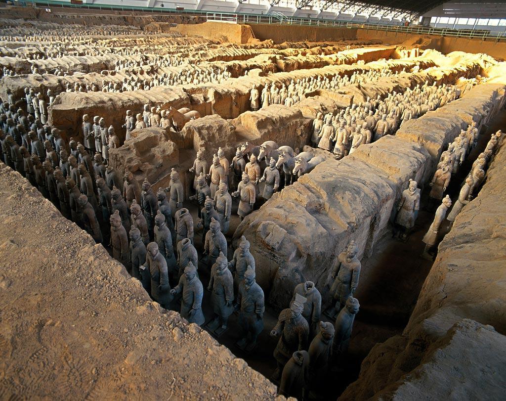 La tumba de Qin Shi Huang