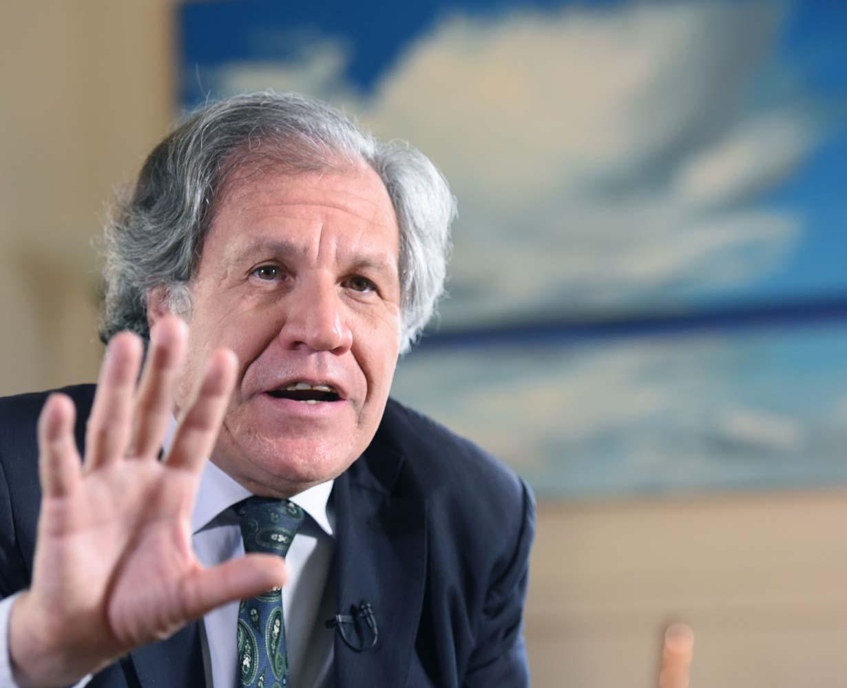 Luis Almagro, secretario general de la OEA (Foto archivo EFE )
