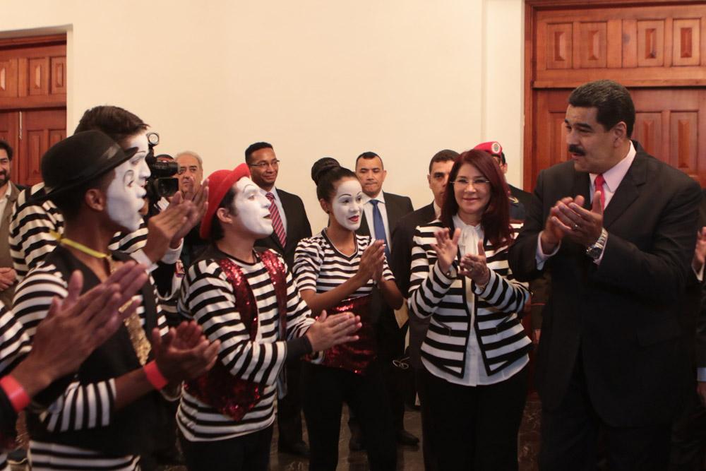 Maduro mimo