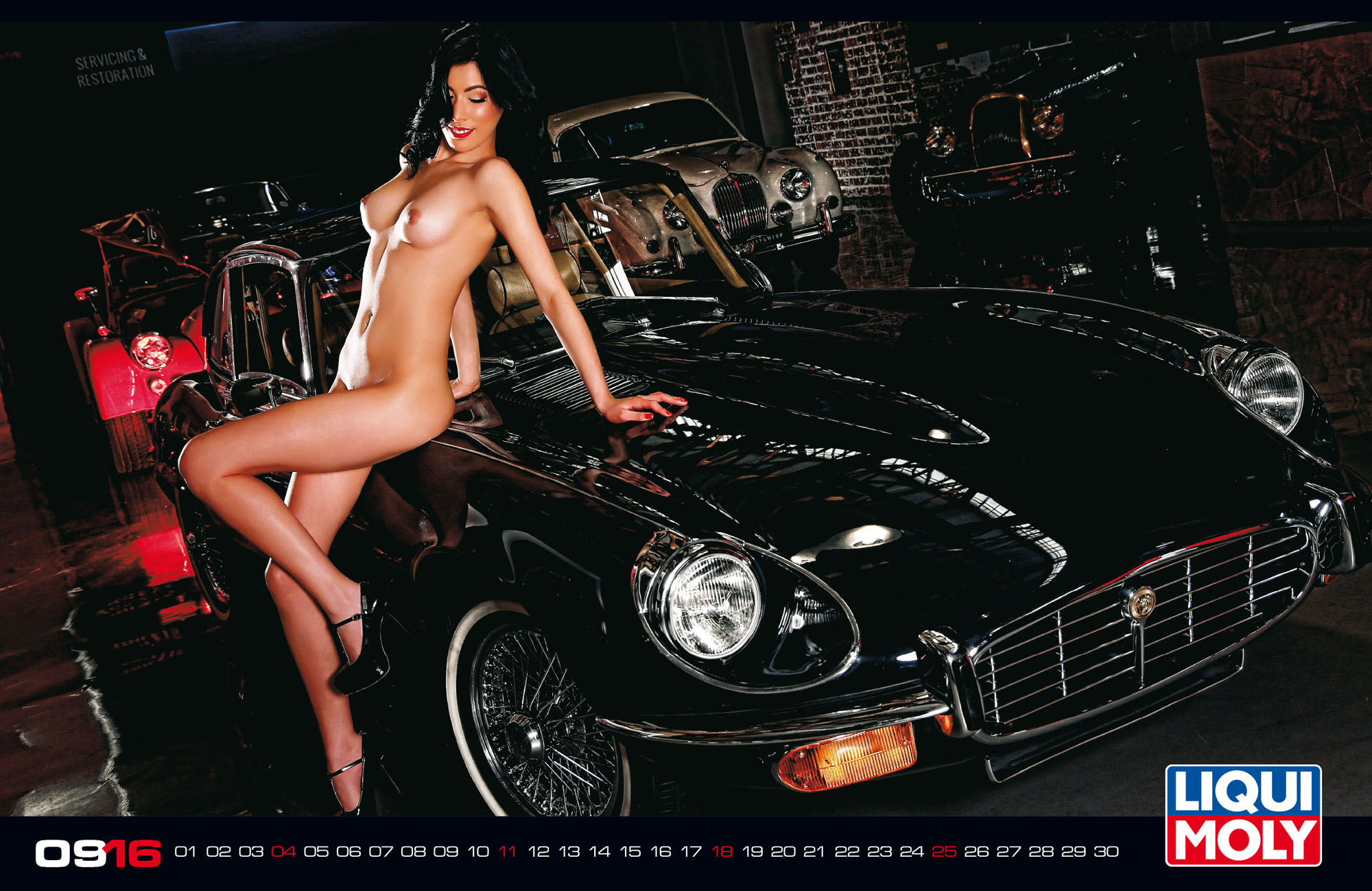 Nenas y Naves… edición especial Calendario HOT 2016 (WOW)