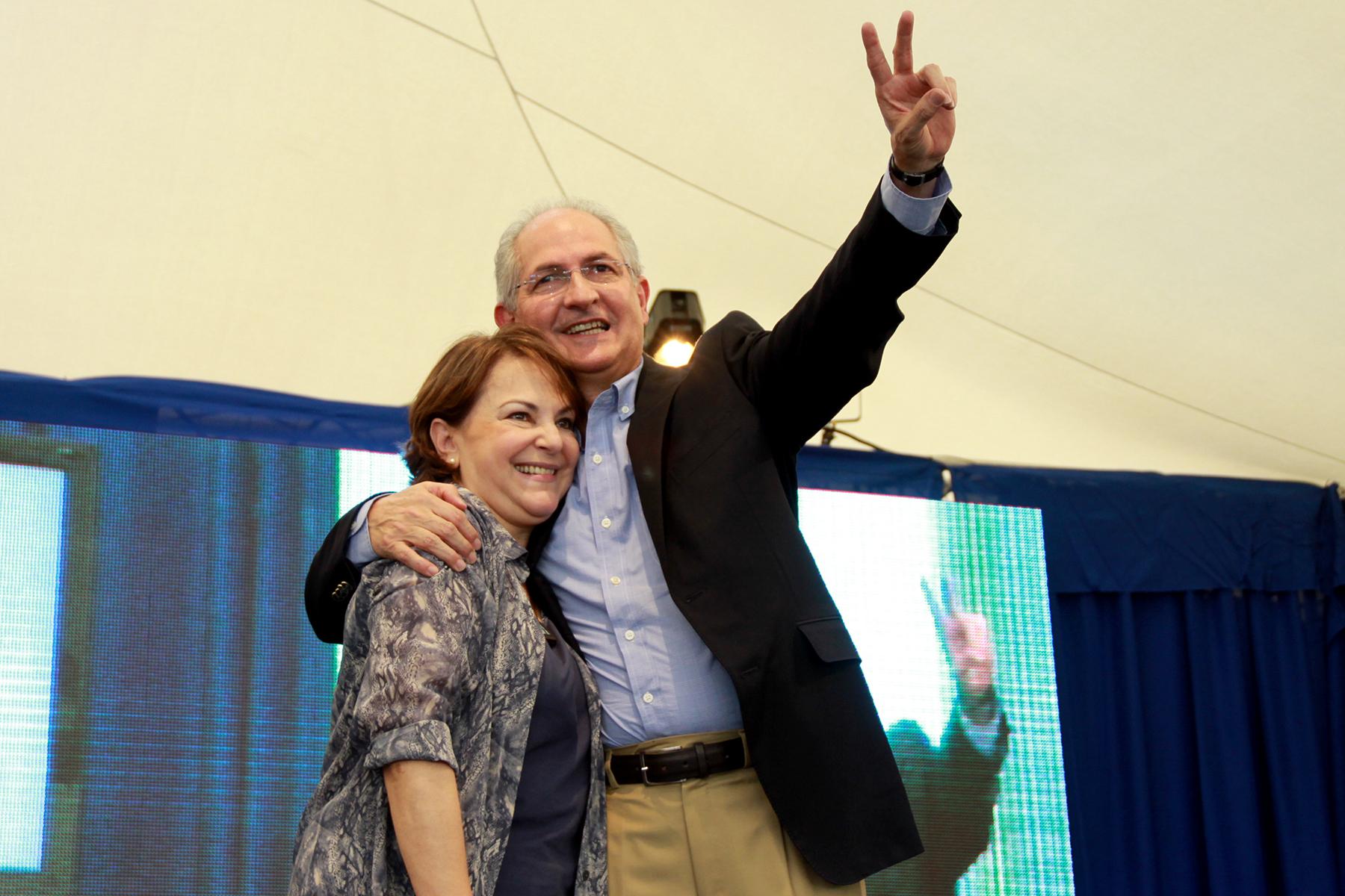 Alcalde Ledezma y Mitzy