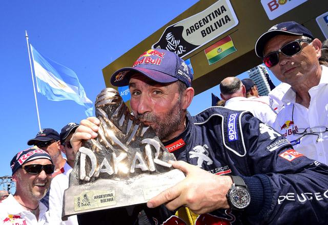 Peugeot en lo más alto! Ganador Dakar 2016 Peterhansel