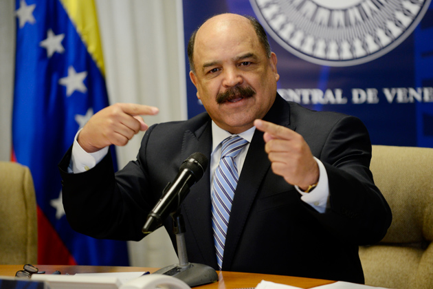 Nelson Merentes, presidente del Banco Central de Veenzuela / archivo