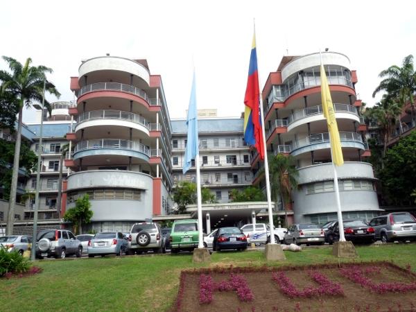 Resultado de imagen para Hospital Universitario de Caracas (HUC)