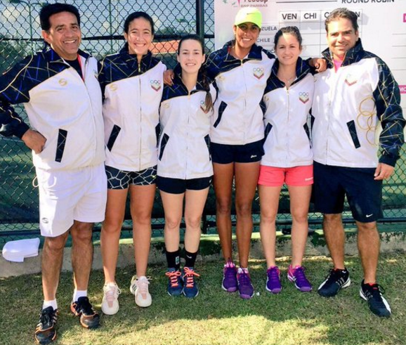 Equipo Venezolano Fed Cup 2016  __Foto Fed Cup