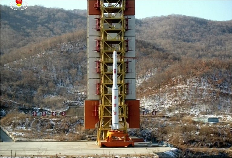 NKOREA-MILITARY-SATELLITE-SPACE