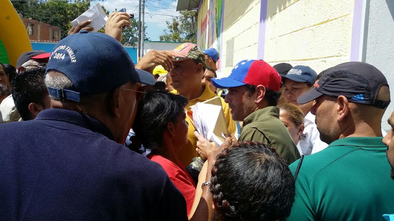 Capriles en Santa Teresa