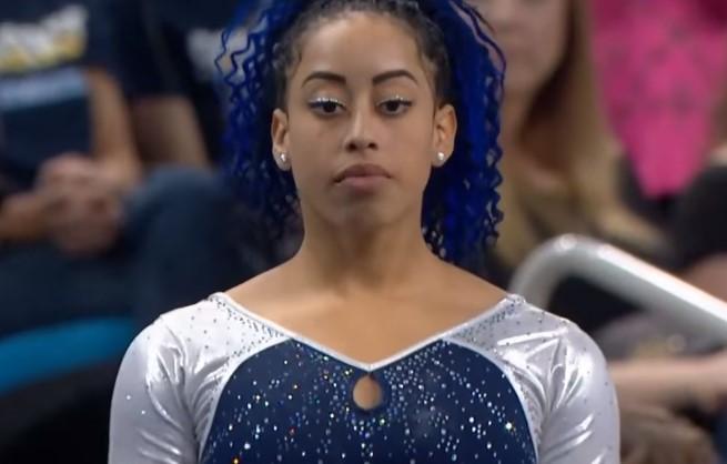 (VIDEO) La genial coreografía de esta gimnasta te dejará con ganas de más