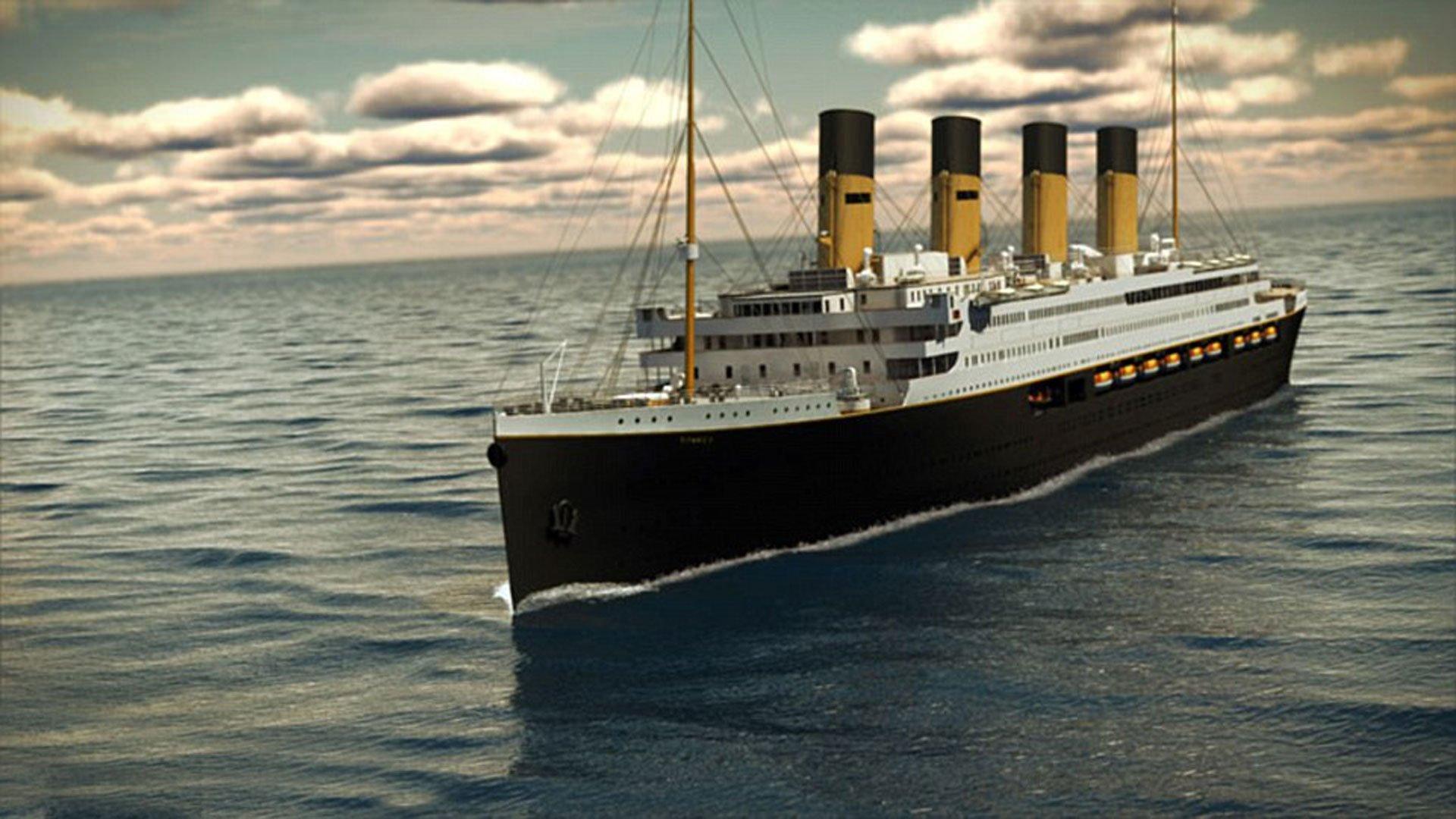 titanic portada