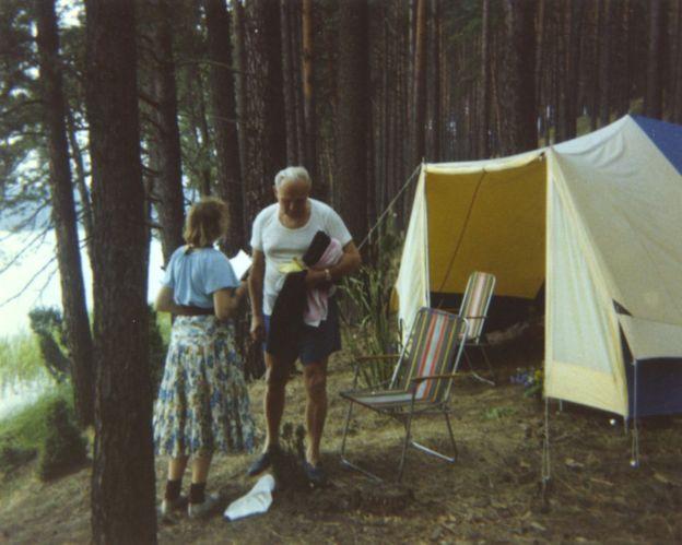 Anna y su esposo