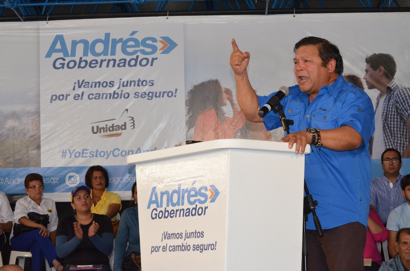 Resultado de imagen para Andrés Velásquez (MUD).