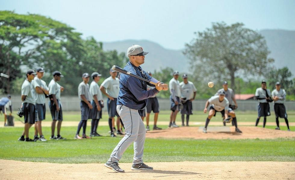 Solo cuatro academias de beisbol de la MLB quedan en Venezuela, en un claro retroceso para este país / Foto AFP