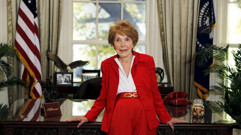 nancy reagan casa blanca