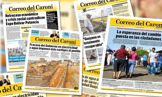 Correo del Caroní apunta sus esfuerzos diarios hacia la consumación de la dignidad de las personas como piedra angular de la sociedad y pieza de engranaje para el desarrollo cabal de los pueblos