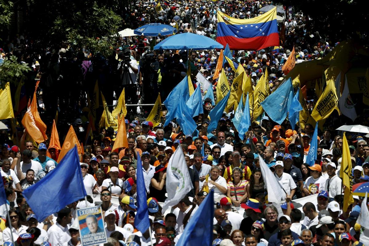 Oposición venezolana realizó con éxito