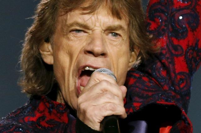 Mick Jagger de los Rolling Stones Foro Sol en la Ciudad de México, México