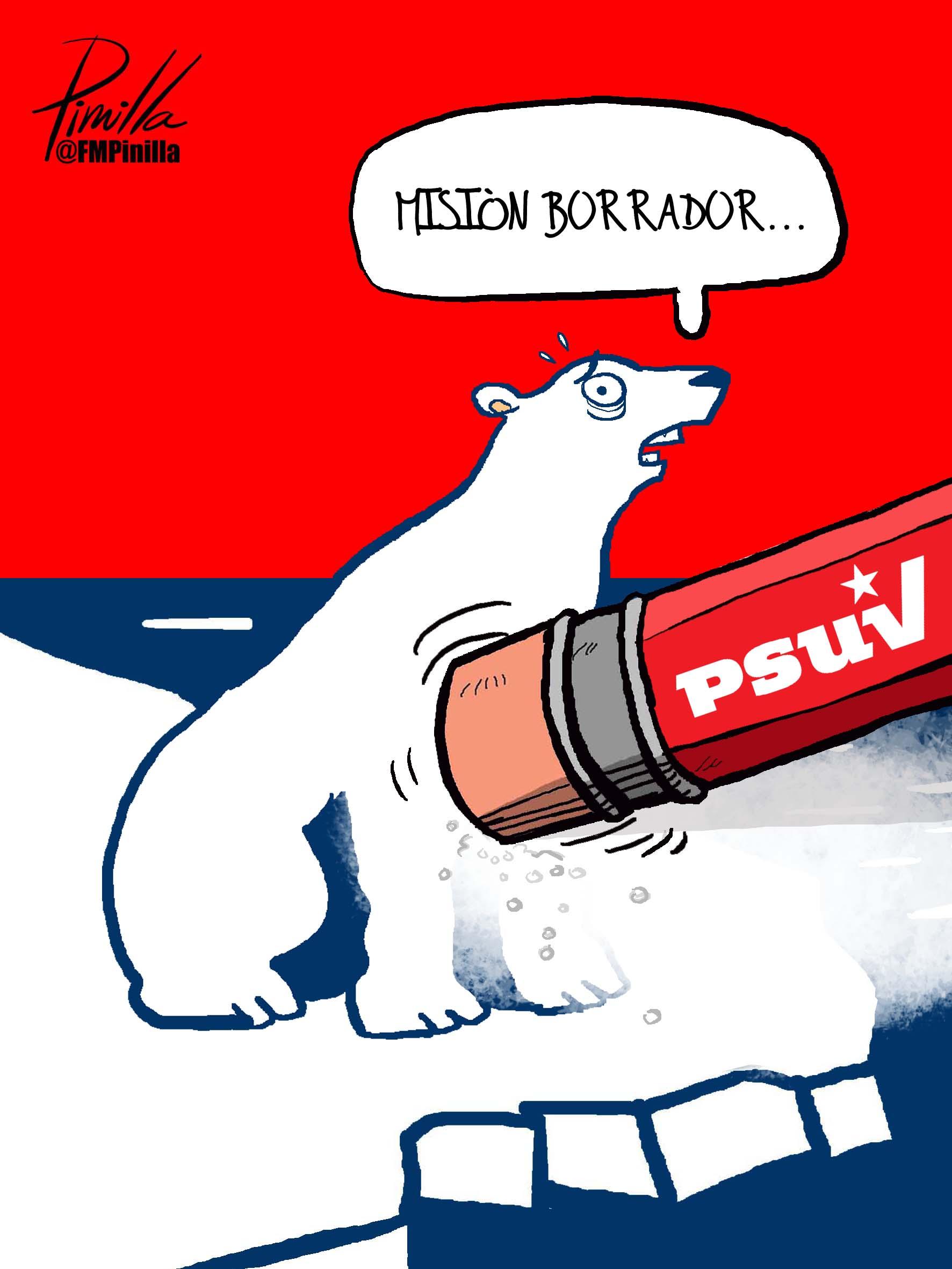 borrando a polar