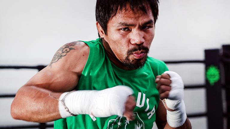 Confiesa Manny Pacquio que ingirió todo tipo de drogas