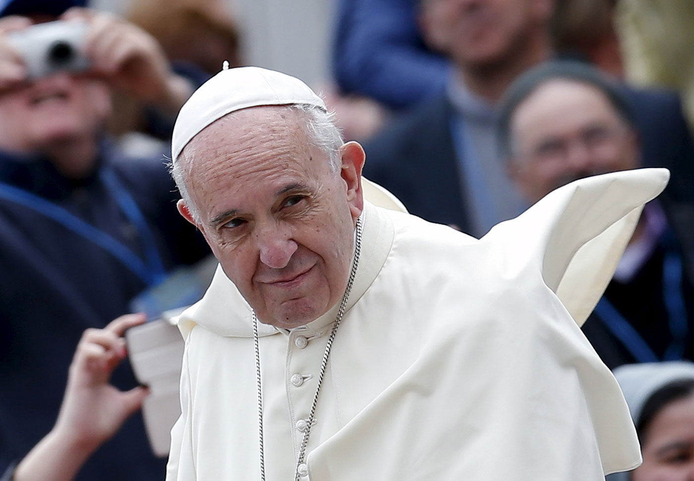 El papa Francisco (Foto Reuters)