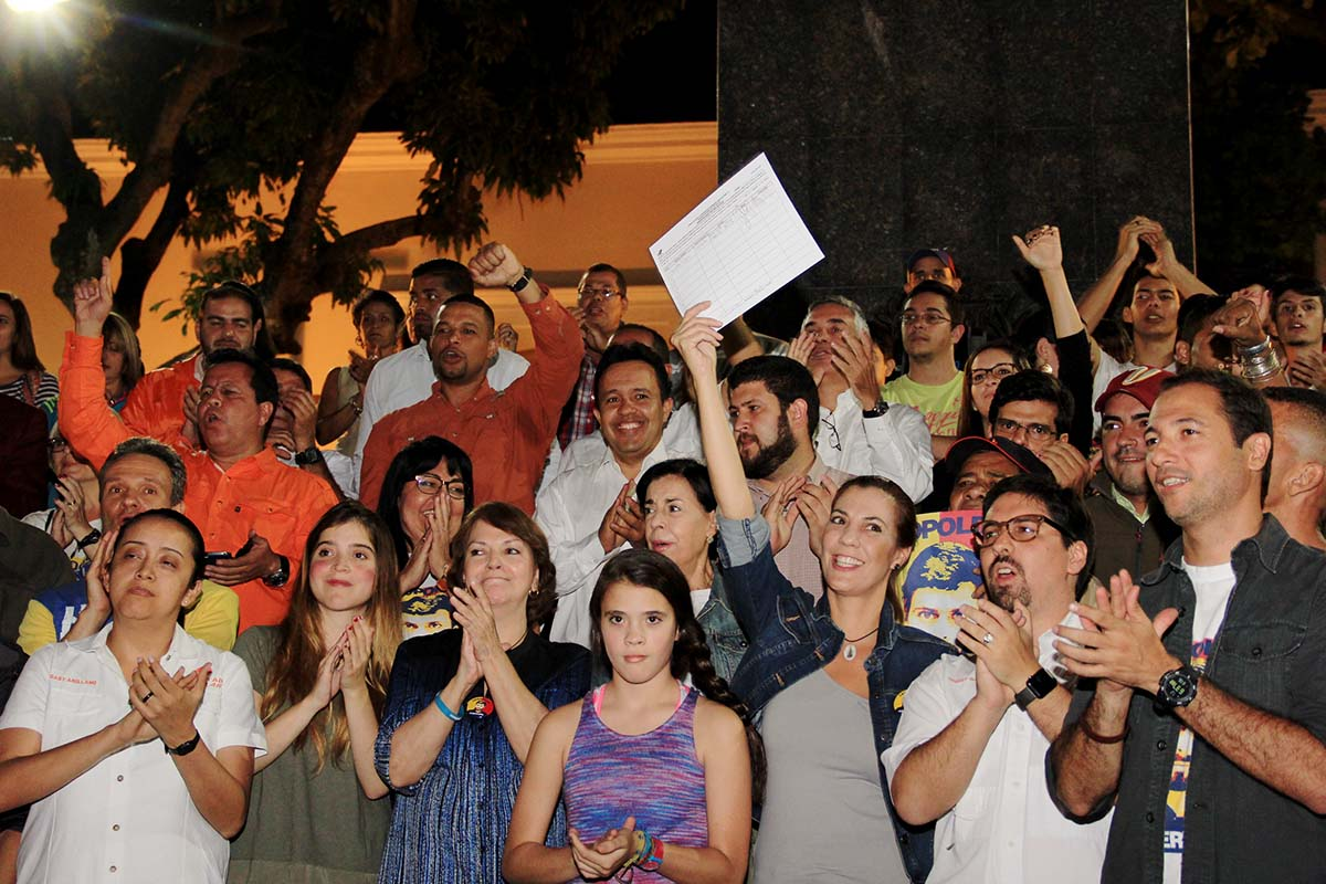 Mitzy de Ledezma en cumpleaños de Leopoldo López (2).