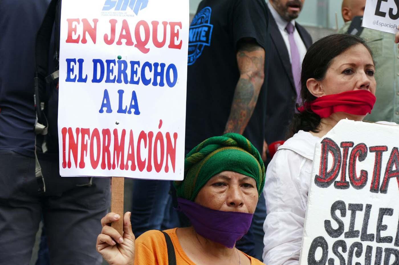 libertad expresion prensa marcha periodistas