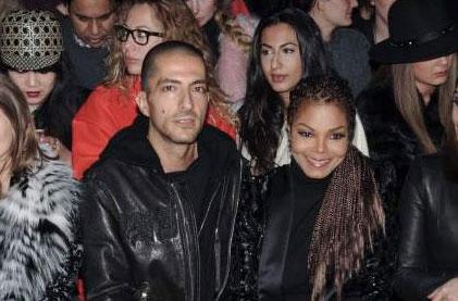 La foto de Janet Jackson embarazada de seis meses a