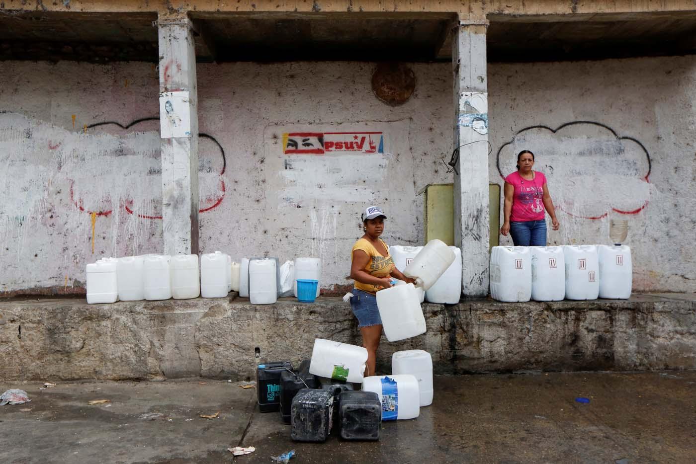 El humillante racionamiento de agua y electricidad en for Racionamiento de luz en aragua