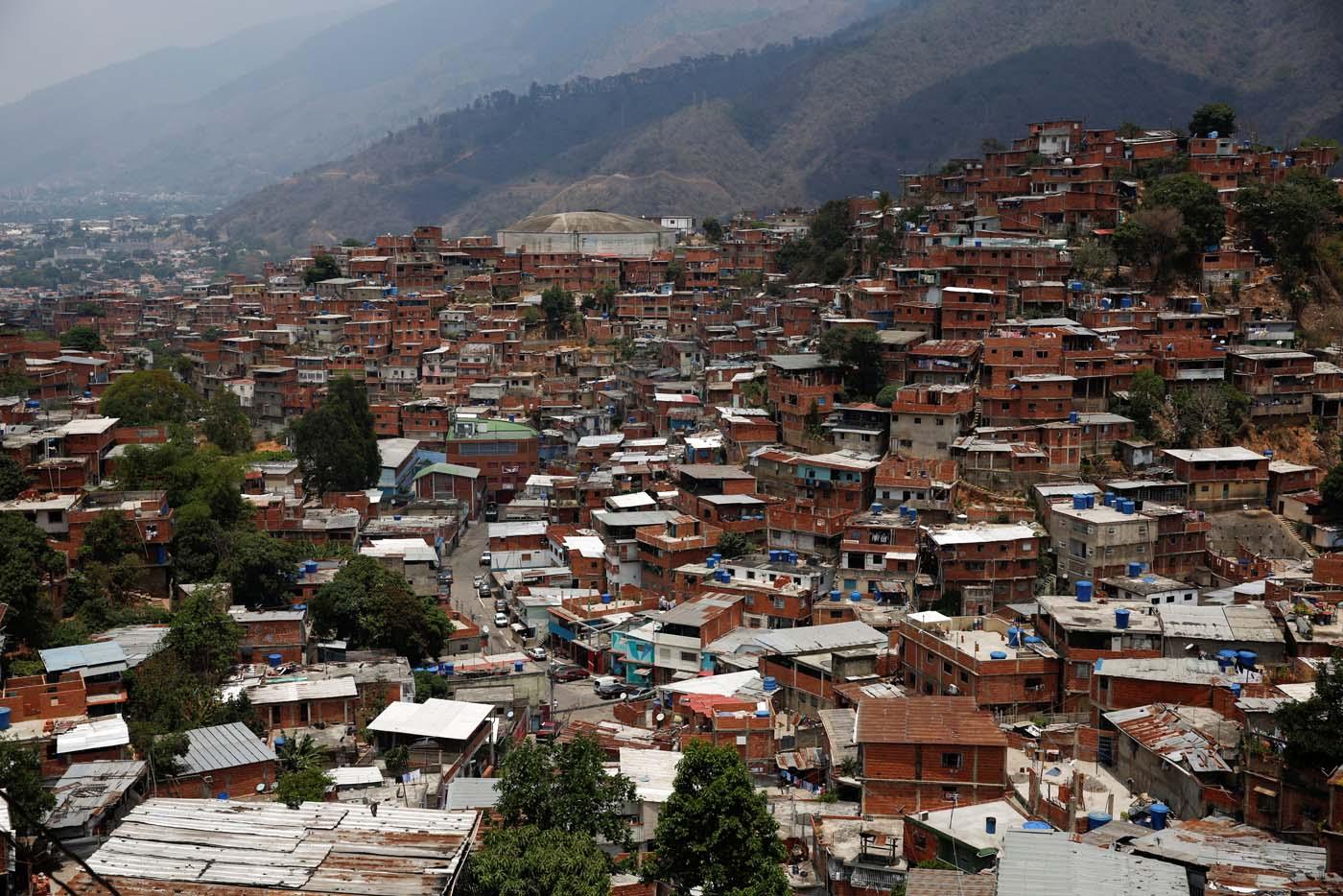 Petare, donde está ubicado el llamado callejón de los brujos (Foto archivo Reuters)