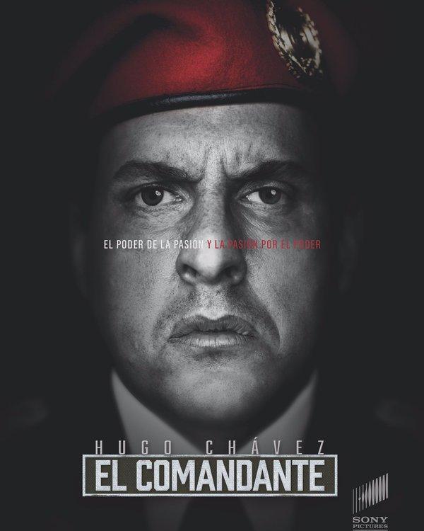 Serie El Comandante sobre Hugo Chávez por Sony Pictures